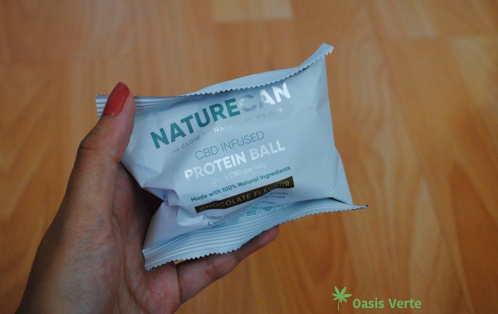 packaging naturecan boule proteinee