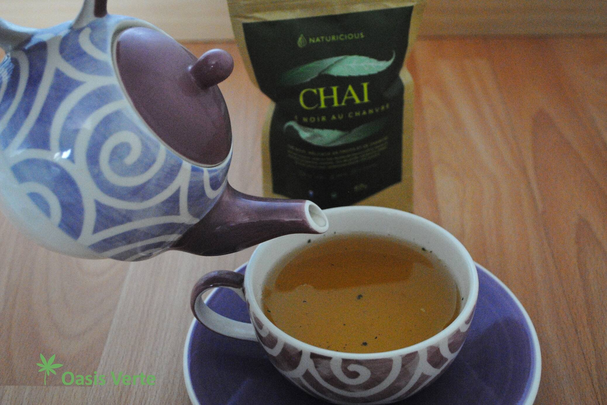 consommer the chanvre naturicious chai